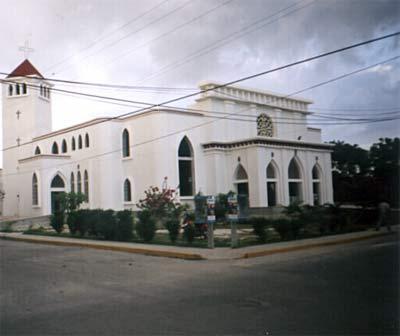 Une église de Playa Del Carmen