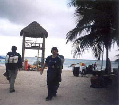 Plage de Playa del Carmen
