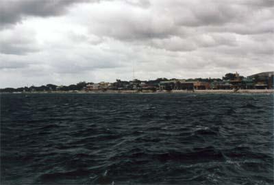 Mer agitée en traversier de Cozumel à Playa Del Carmen