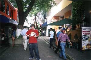 Dans les rues de VillaHermosa