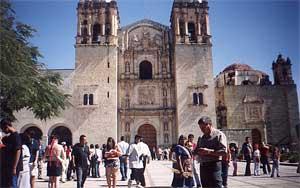 L'église Santo Domingo de Oaxaca