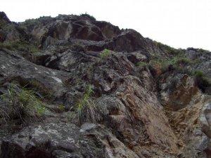 Les rochers dont les montagnes sont composées