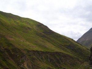 Un flanc de montagne