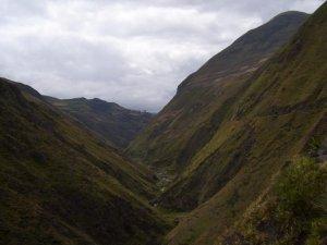 Une dernière fois la vallée andine