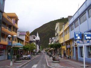 Les rues de Baños