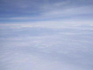 Des nuages dans le ciel de San Jose de Costa Rica