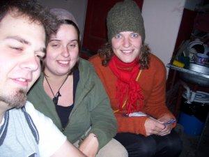 Nous voici lorsque la fatigue nous rentre dans le corps au Centro del Mundo de Quito