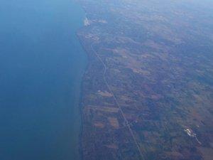 Les grands lacs - Les frontières entre l'Ontario et les États-Unis, direction Chicago