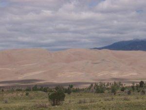 Les immenses dunes
