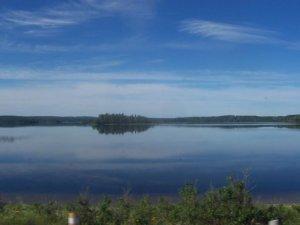 Un petit lac ontarien