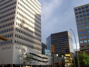 Le centre-ville de Regina!