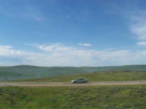 Des plaines bleues de la Saskatchewan