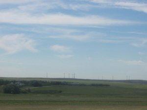 Des eoliennes en Saskatchewan