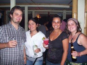 Une fiesta avec des chiliennes