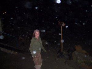 Marie-Ève prise dans la tempête!