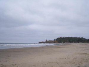 La plage avant de partir!
