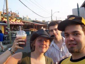 Slush au chocolat - Moi, Thomas, Marie et la slush au chocolat en autoportrait