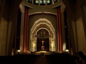Voici une image de l'intérieur de l'oratoire Saint-Joseph