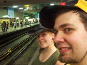 Le voici, le métro Montrélais! J'aime mieux celui de Caracas!