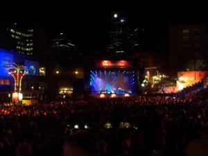 La foule au festival de Jazz