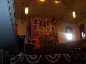 Chapelle non-utilisee faite pour les visites
